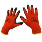 دستکش موادی مشکی قرمز TAHA