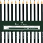 مداد مشکی 1111(12عدد) فابر کاستل