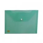 پاکت پلاستیکی سبز A5 متالیز