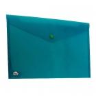 پاکت پلاستیکی سبز A4 متالیز