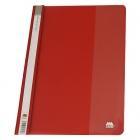 پوشه یکرو شفاف قرمز متالیز