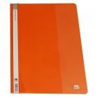 پوشه یکرو شفاف نارنجی متالیز