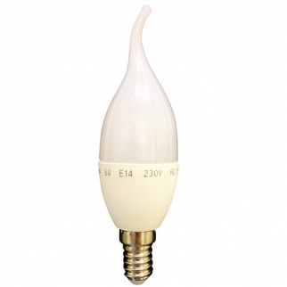 لامپ 6 وات اشکی  پارس شهاب (مهتابی)