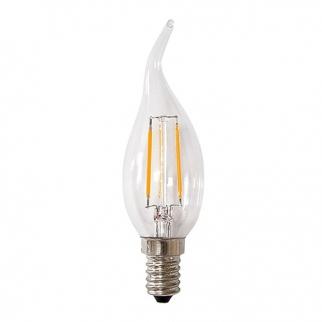 لامپ 4 وات اشکی فیلامنتی آفتابی (هالی استار) نمانور