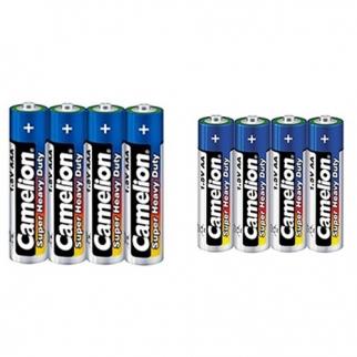 باتری قلمی و نيم قلمی بسته 8 عددي کمليون